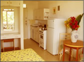 Adulo kitchenette in the studio apartment