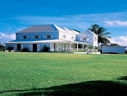 The wonderful Taitt's Plantation House set in 10 acres of lush grounds and with  swimming pool.