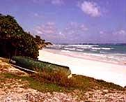 Silver Sands Beach. CLICK to take you to accommodation here