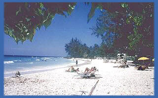 Rockley Beach also known locally as Accra Beach is very popular for swimming, snorkelling and water sports