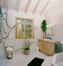 elegantly tiled bathroom
